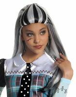 Monster High Frankie Stein Girls Wig , New, Free Shipping
