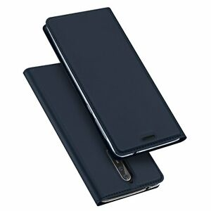 For-Nokia-8-Sirocco-8-1-Case-Cover-Premium-PU-Leather-Flip-Fitted-Rubbery-Bumper