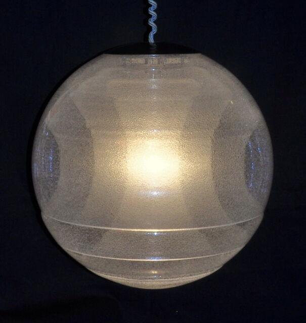 carlo nason globe lampe mazzega murano ca. 1970