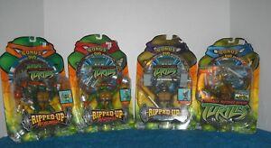 Teenage-Mutant-Ninja-Turtles-Ripped-Up-set-of-3-action-figures-w-Bonus-DVD