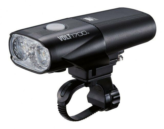 Cateye Volt 1700 RC Front Light - Bicycle Road Cycling Safety Mountain Bike MTB