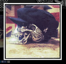 Newsboy cap. Large/XL. Voodoo Street logo tag. New. Black. Free sticker. Quality