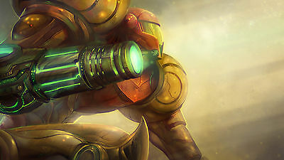 Super Metroid  - Wall Poster - 15 in x 24 in ( Fast shipping  in Tube )