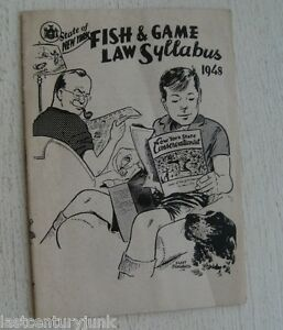 New-York-Fish-amp-Games-Laws-1948-Booklet