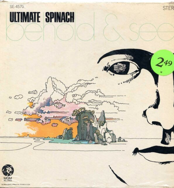 """ULTIMATE SPINACH """"BEHOLD & SEE"""" ORIG US 1968 BOSTON PSYCH"""