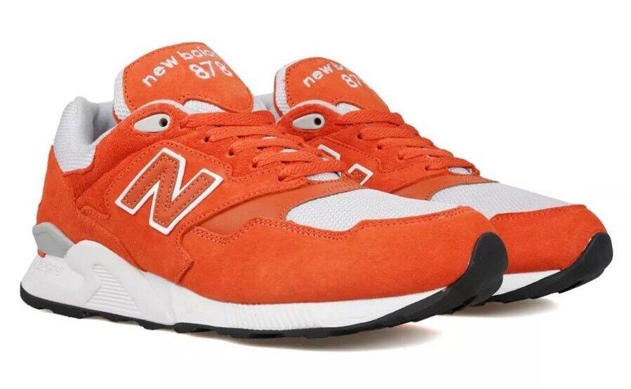 Nuovo equilibrio 878 orange uomo atletico nuove in scarpe da ginnastica nuove atletico ml878rsa 10,5 cdd598