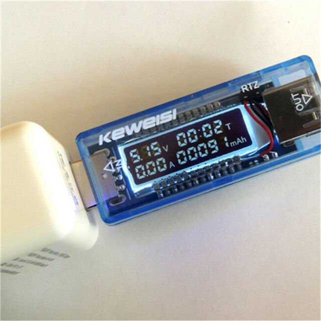 Digital Display Hot USB Charger Detector Current Voltage Mobile Power Tester