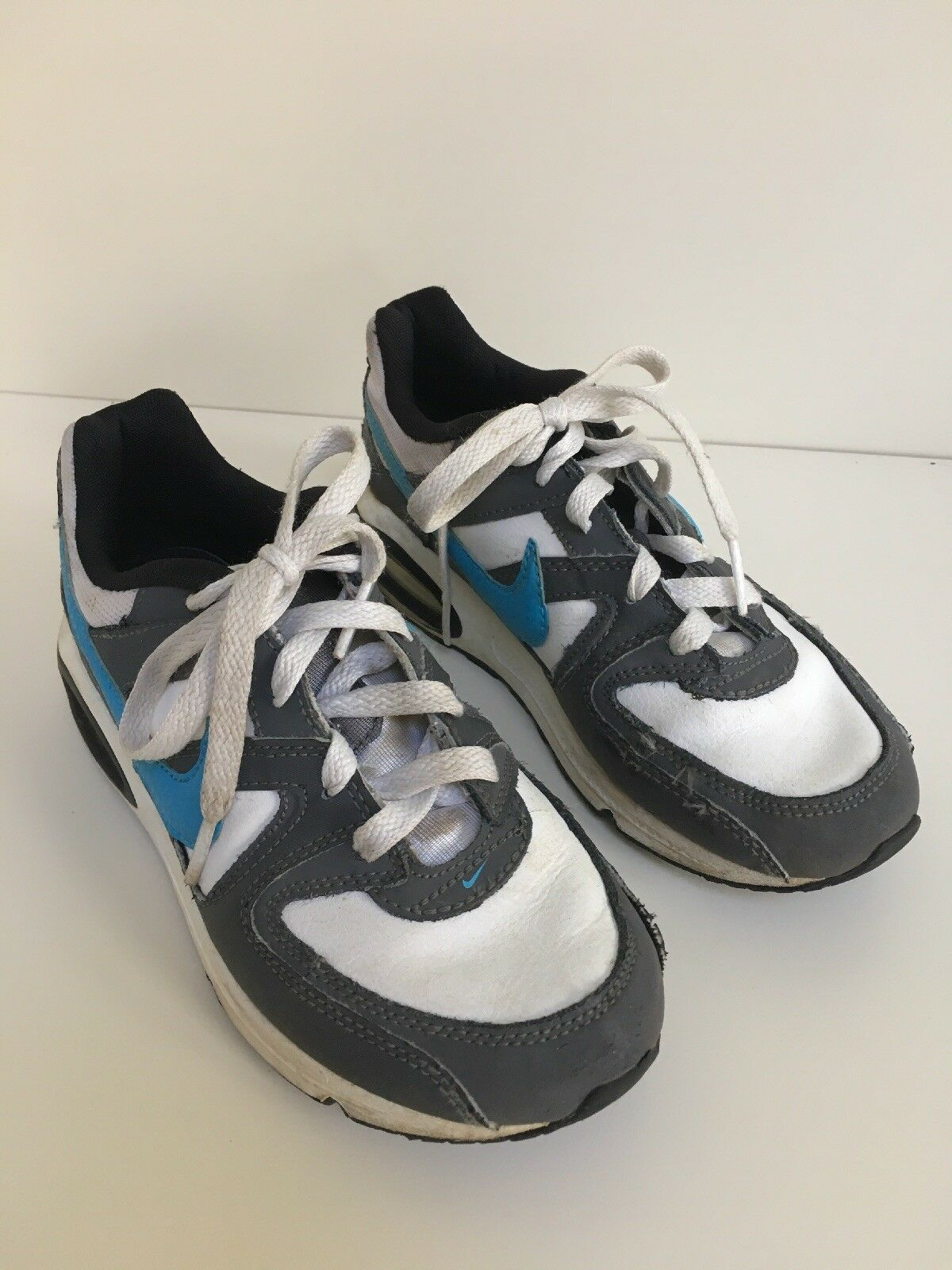 Intenzionale Bambini Scarpe Da Ginnastica Nike Air Max Taglia Uk 2 ⭐ Buone Condizioni ⭐