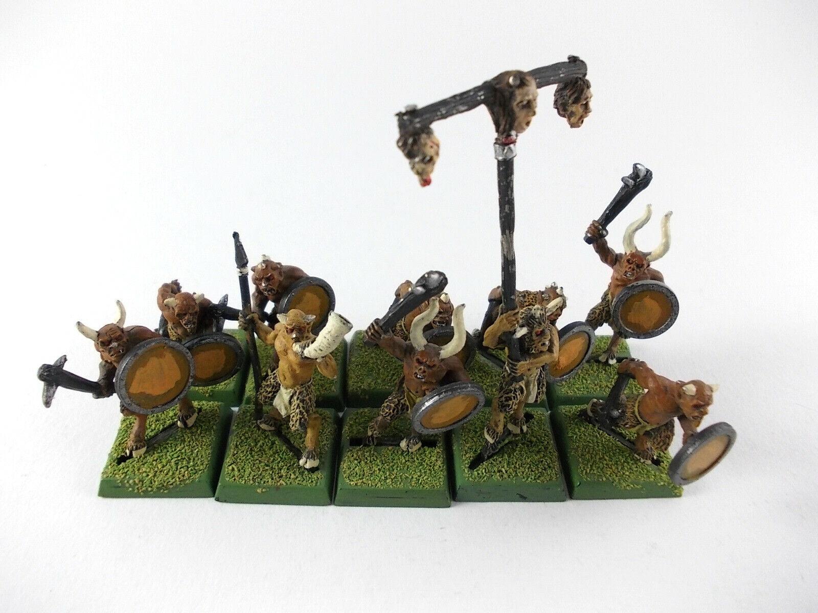 10 x ungors delle persone animali Warhammer fantasyc-BEN  DIPINTO METtuttiO -  Offriamo vari marchi famosi