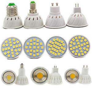 GU10-MR16-E14-E27-LED-Spotlights-3-4-5-6-7-15W-Bulbs-220V-DC12V-Warm-White-Light