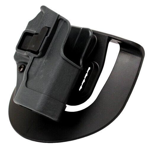 Blackhawk Serpa Sportster Paddle Holster Glock 26//27//33 Gray Right 413501BKR