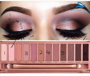 Eyeshadow Palette UrbanDecy NKD3 - 12 Colors