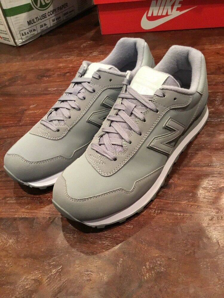New Balance ML515SBK shoes Sneakers New Size 9.5 Men's Grey 515