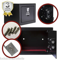 Premium Home Small Key Security Safe For Hotels, Homes, Bedrooms, Cash Safe Box