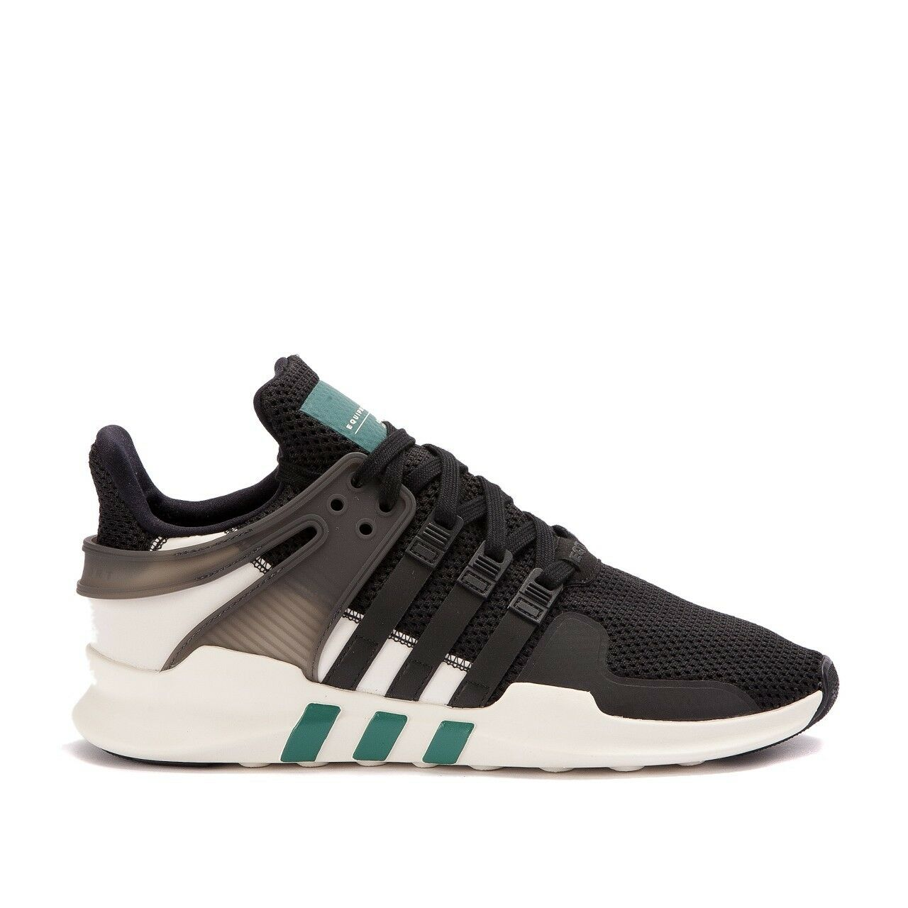 10.5 adidas Originals EQT SUPPORT ADV Equipment Xeno Black Green White BA8321