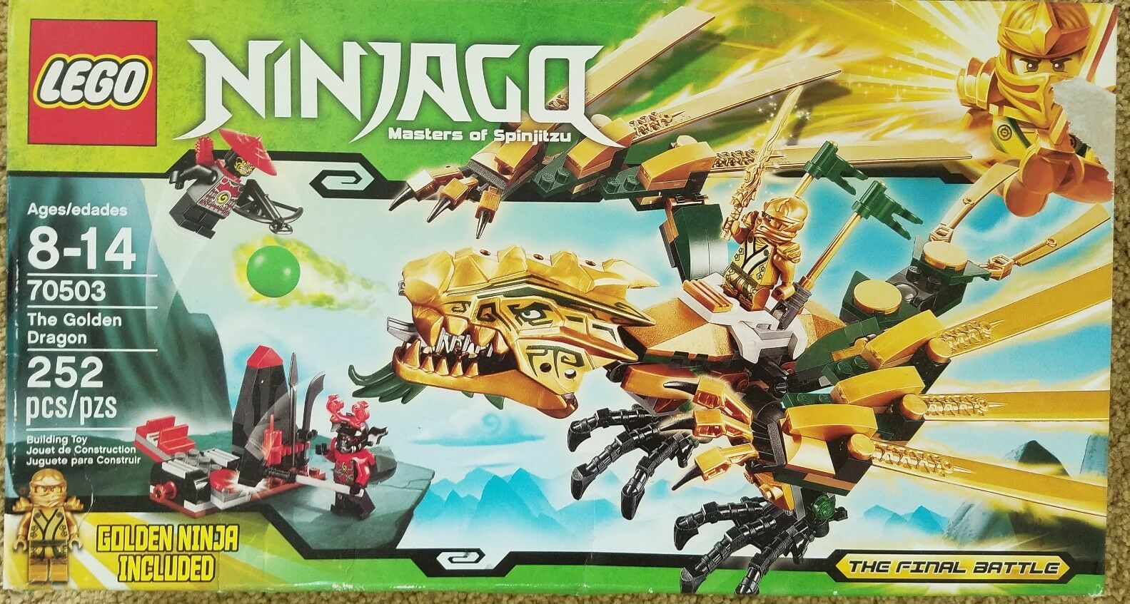 Lego Ninjago Masters of Spinjitzu 70503 Missing 1 Pc