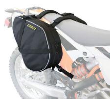 Dual Sport Motorcycle Saddlebags - Black Universal Nelson Rigg RG-020
