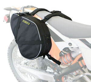 80e354140d7a Image is loading Dual-Sport-Motorcycle-Saddlebags-Black-Universal-Nelson- Rigg-