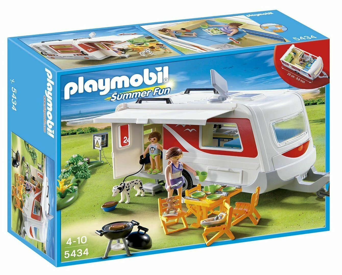 Playmobil 5434 - Caravana Familiar - NUEVO