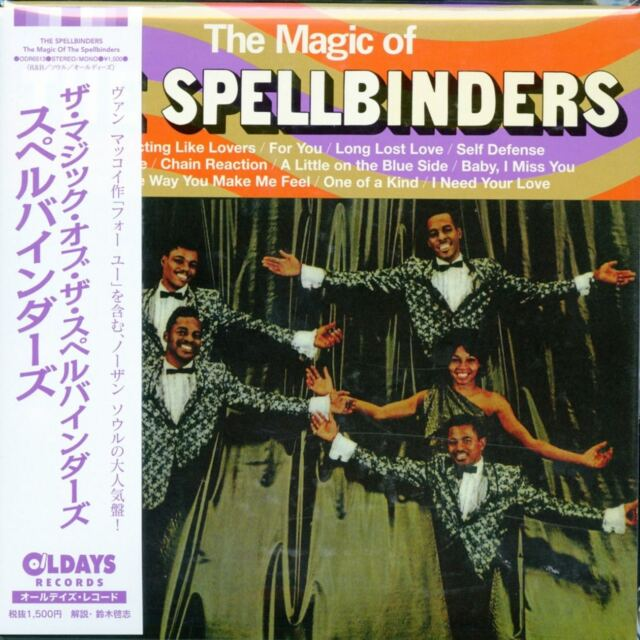 SPELLBINDERS-THE MAGIC OF THE SPELLBINDERS-JAPAN MINI LP CD BONUS TRACK C94