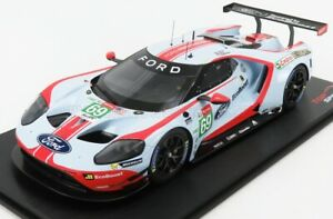 TRUESCALE 1/18 FORD USA   GT FORD ECOBOOST 3.5L TURBO V6 TEAM FORD CHIP GANAS...
