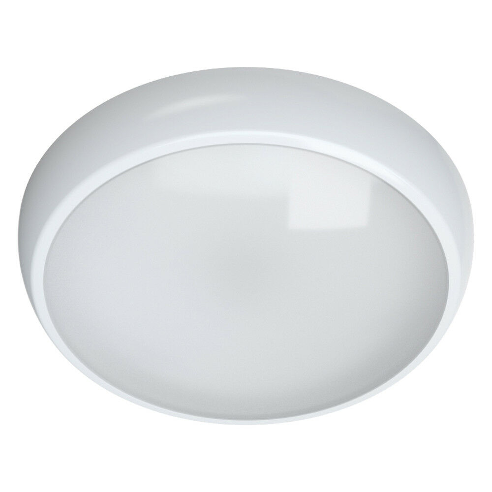 Led 3hr Emergency Maintained Non Maintained Round Ceiling Bulkhead Light Ip54 Ebay