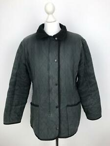 BARBOUR-Womens-DURACOTTON-POLARQUILT-Jacket-Country-Quilted-UK-16-Blue