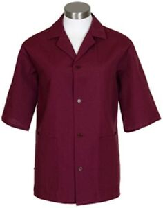 Fame Fabrics Burgundy K71 Unisex Smock XS - 5XL Professional and High Quality