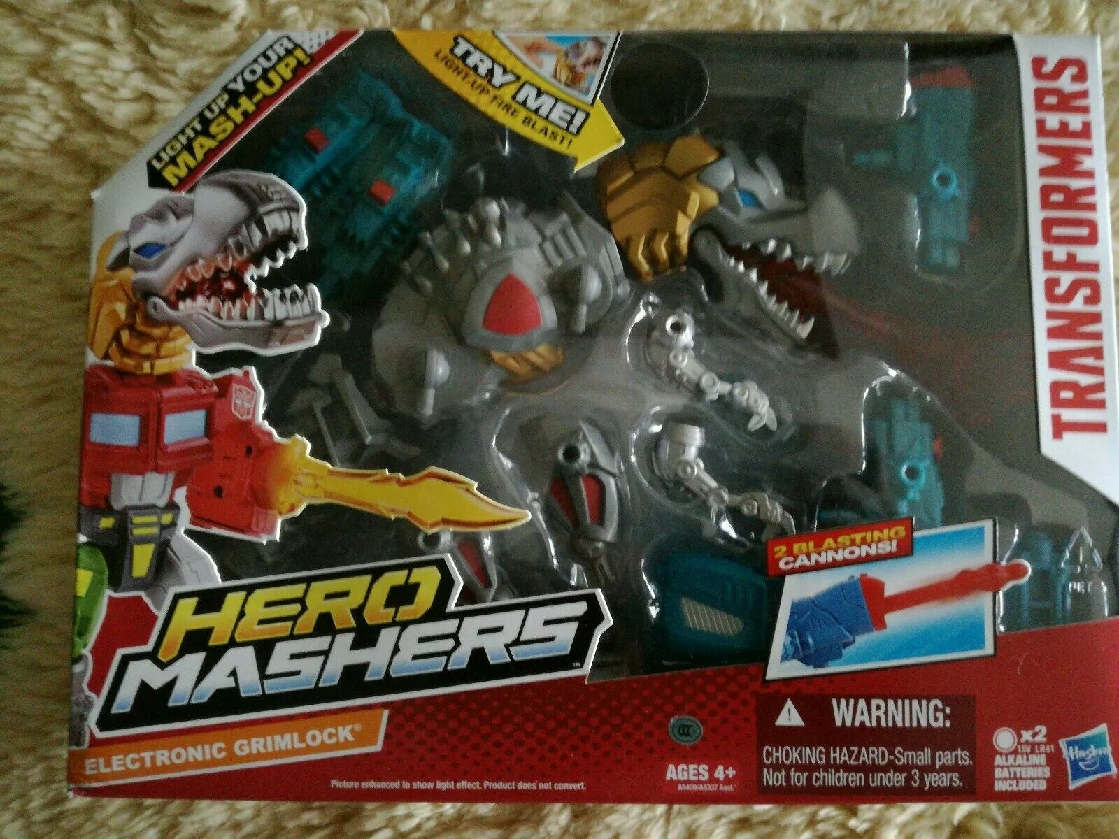 Electronic Grimlock TRANSFORMERS Hero MASHERS MASHERS MASHERS 9a3b5a
