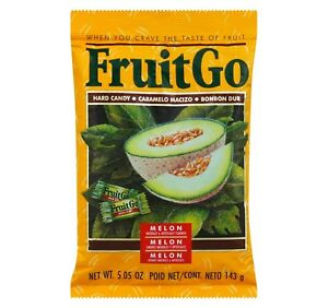 FruitGo-Fruit-Go-Melon-Hard-Candy-Individually-wrapped-Candies-5-05-oz-Bag