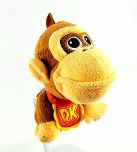 World Of Nintendo Mario Bros Baby Donkey Kong DK Plush ...
