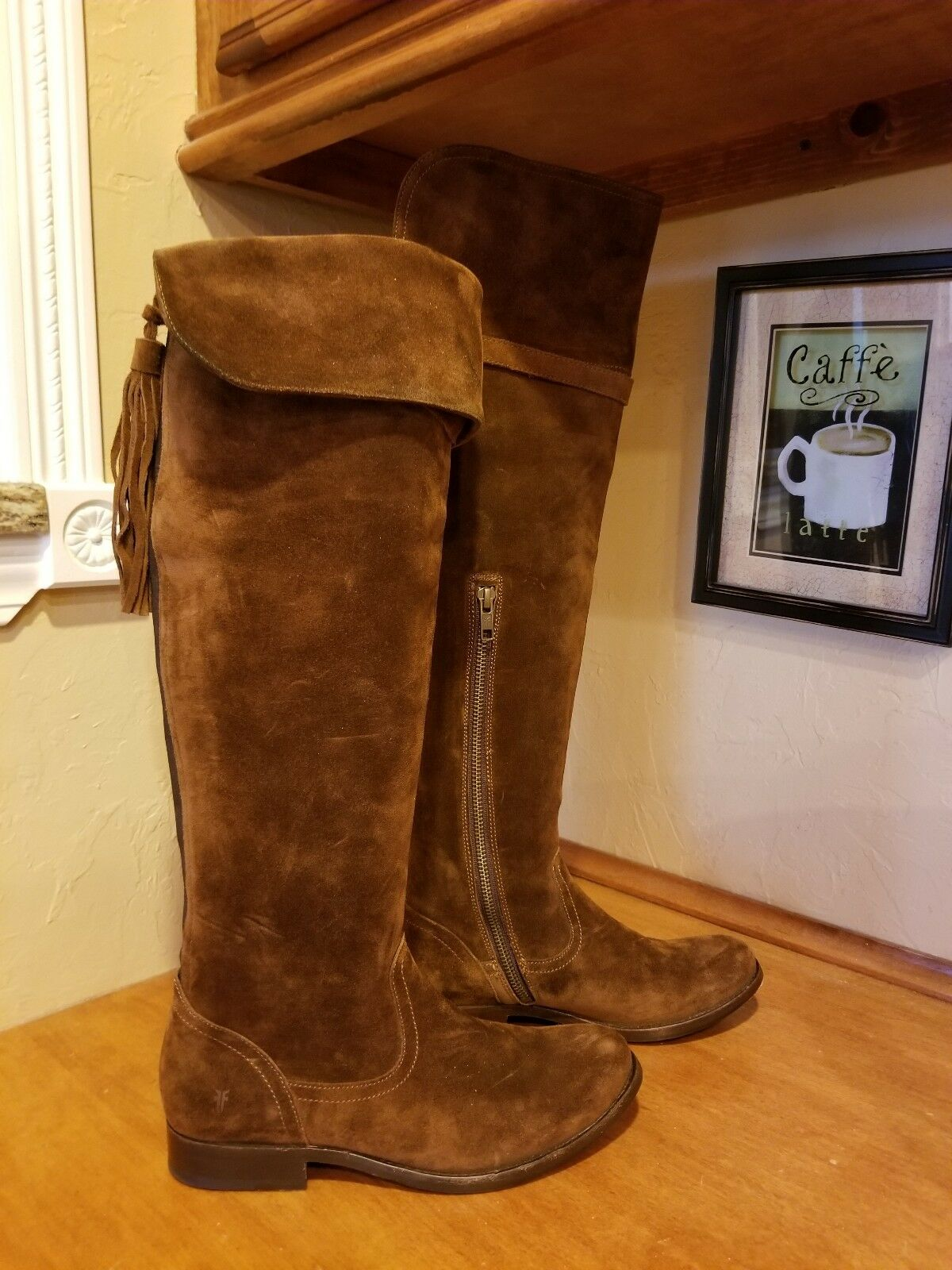 Frye Over The Knee Boots Size 6