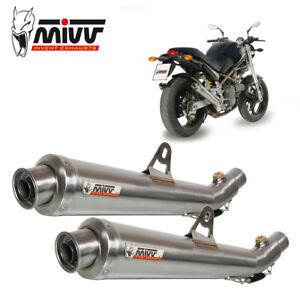 Ducati Monster 600 Exhaust Mivv X Cone 1999 2001 Ebay