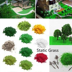 OO N Gauge KJB Models 6mm Green Pasture Mix Static Grass 10g Wargames Scenery