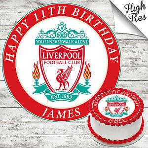 Liverpool Cake Topper Ebay
