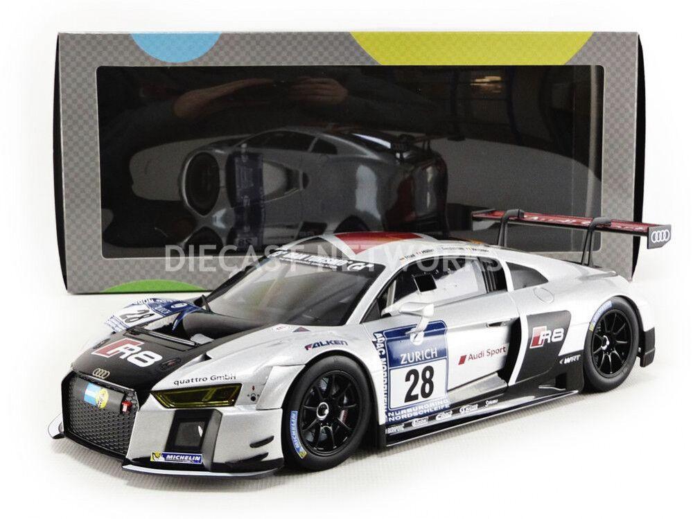 ¡no ser extrañado! Paragon Audi R8 Lms GT3 Ganador 24H 24H 24H Nurburgring 2015  28 1 18 Escala Nueva  hasta un 70% de descuento