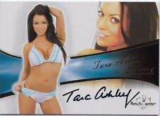 BENCH WARMER (2013) BUBBLE GUM TARA ASHLEY #11 AUTOGRAPH CARD - SEXY