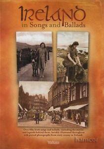 Bien L'irlande En Chansons Et Ballades Cartonnée Sheet Music Book MÊme Jour ExpÉdition-afficher Le Titre D'origine