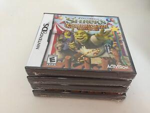 Shrek-039-s-Carnival-Craze-Party-Games-Nintendo-DS-2008-NEW