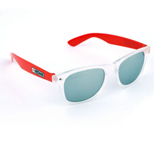 Ipone Sunglasses Classic Aviator Shades Motorbike Racing Gift Idea Red//Clear