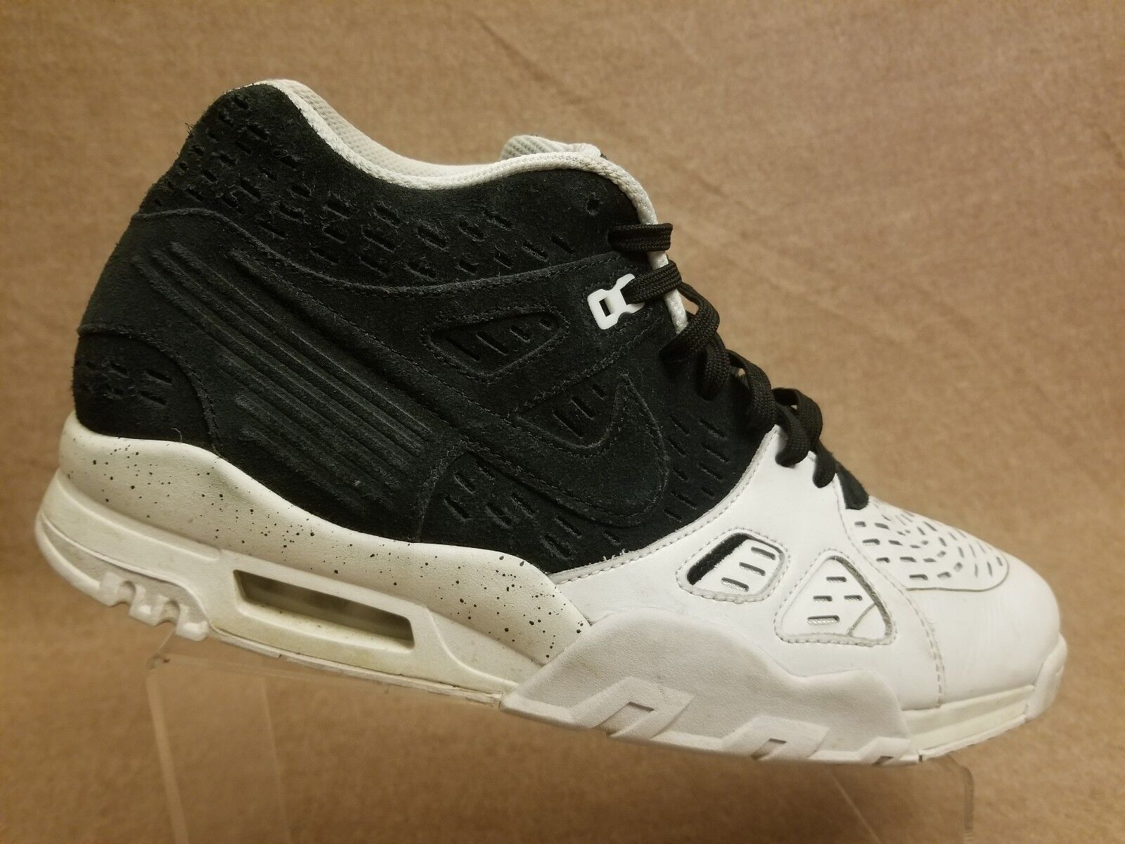 Nike Air Trainer III LE 815758-003 Men Black White Sport Athletic Shoes Size 13