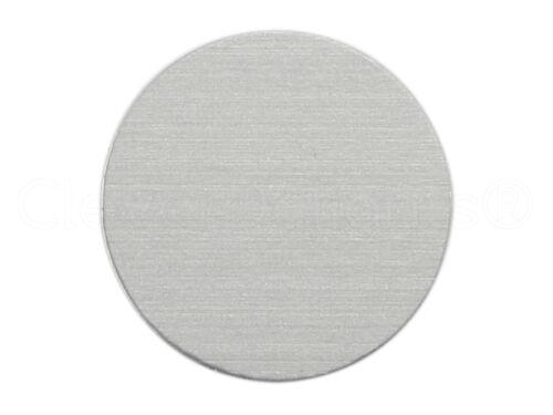 """7//8/"""" Round Stamping Blanks .028/"""" 21 Gauge 100 Pk - Aluminum Circle Tags"""