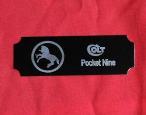 Colt-Firearms-Pocket-Nine-Display-Case-Plaque