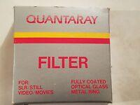 Quantaray Filter 49mm 6x-cs 24-166-5496 Coated Optical Glass Metal Ring
