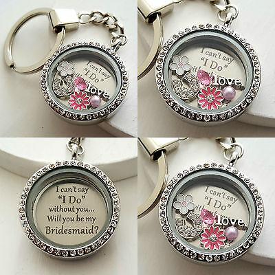 Will You Be My Bridesmaid Maid Of Honour - Personalised Wedding Keepsake Gift