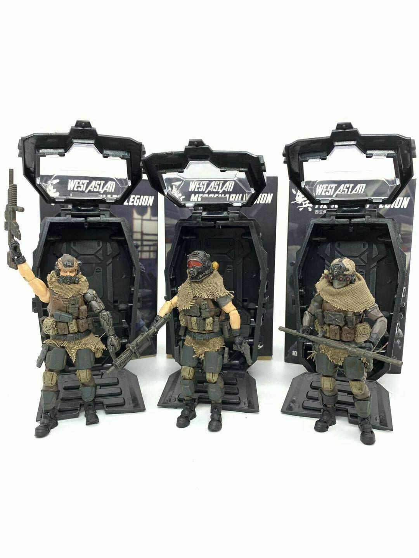 JOY TOY 1 18 West Asian Mercenary Legion VELT SIMON RAMAZ Set of 3 Action Figure