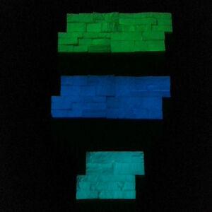 1kg vernice fosforescente fotoluminescente si illumina al buio in 3 colori