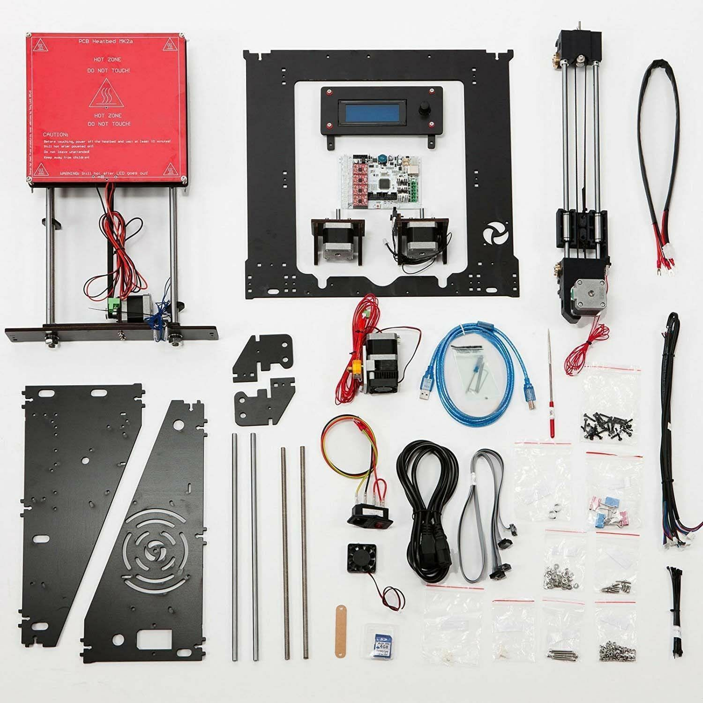 3D Printer DIY kit Prusa i3 Upgrade High Precision Reprap 3D Desktop Printer