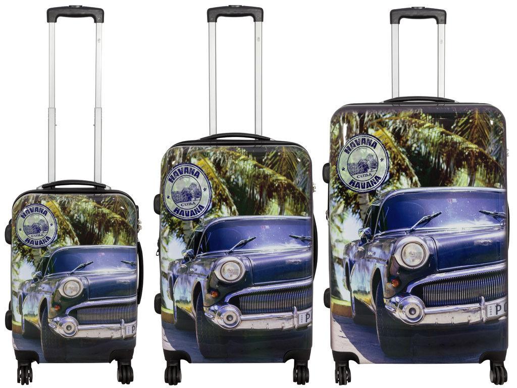Betz valigia con la TSA valigia sacaglio set di valigie motivo HAVANA