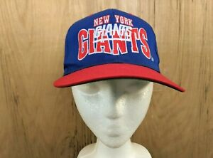 Image is loading Vintage-Giants-Football-Sports-Specialties-Big-blue -Snapback- 032d667a660